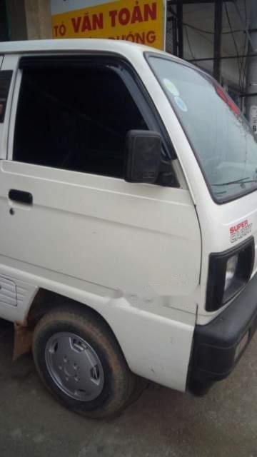 Bán Suzuki Super Carry Van đời 2005, màu trắng-2