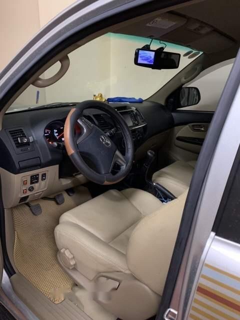 Bán Toyota Fortuner đời 2015, màu bạc xe gia đình, giá 820tr (5)