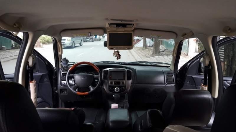 Bán Ford Escape 2.3 XLS đời 2009, màu đen, nhập khẩu  -3