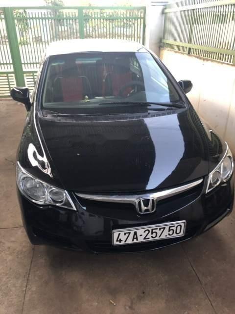 Bán Honda Civic năm sản xuất 2008, màu đen -0