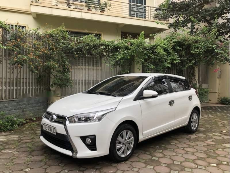 Bán xe Toyota Yaris G 1.5AT đời 2017, màu trắng, nhập khẩu chính chủ-1