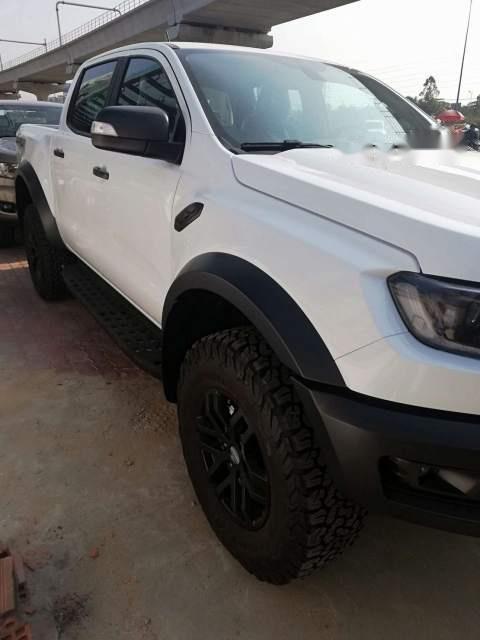 Bán xe Ford Ranger raptor 2019, màu trắng, xe nhập-1