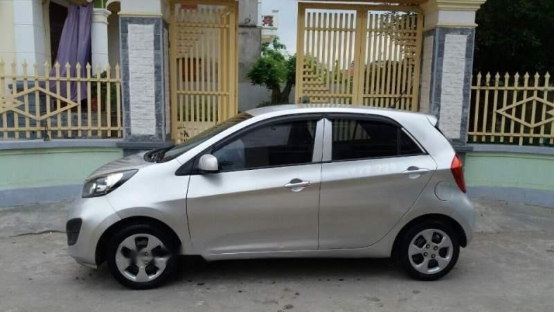 Cần bán lại xe Kia Morning 2013, màu bạc, nhập khẩu nguyên chiếc-4