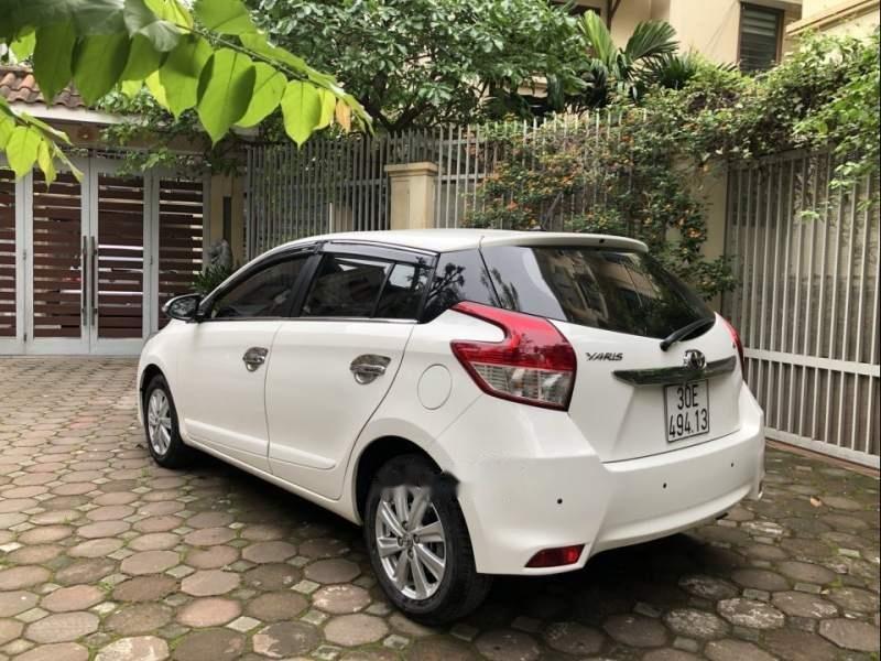 Bán xe Toyota Yaris G 1.5AT đời 2017, màu trắng, nhập khẩu chính chủ-5