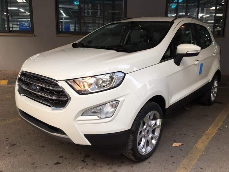 Bán Ford EcoSport đời 2019, màu trắng-0