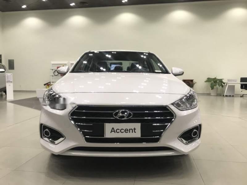 Bán xe Hyundai Accent 1.4 MT Base 2019, màu trắng, nhập khẩu, 430tr-3