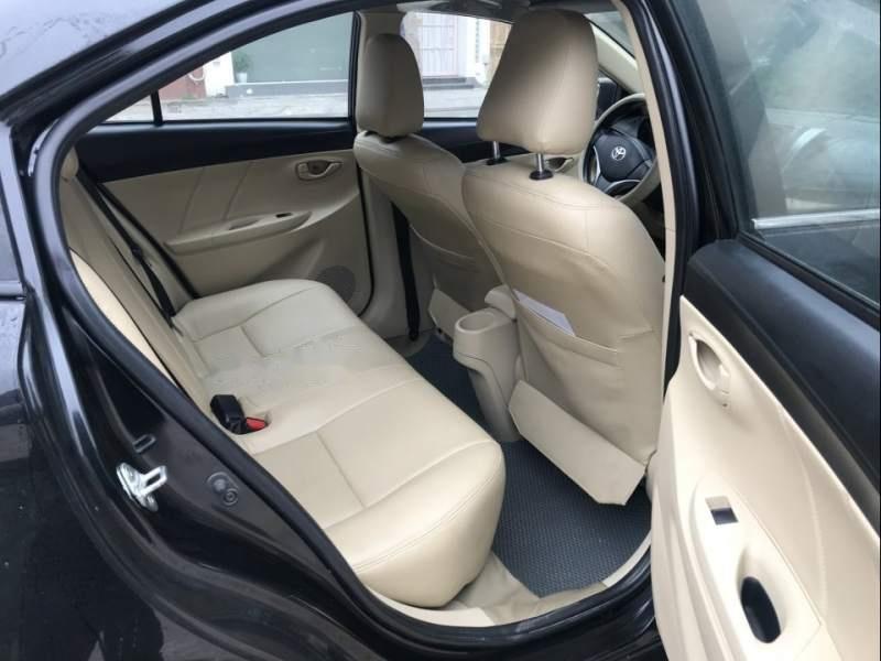 Cần bán gấp Toyota Vios 2015, màu đen chính chủ, giá 410tr-1