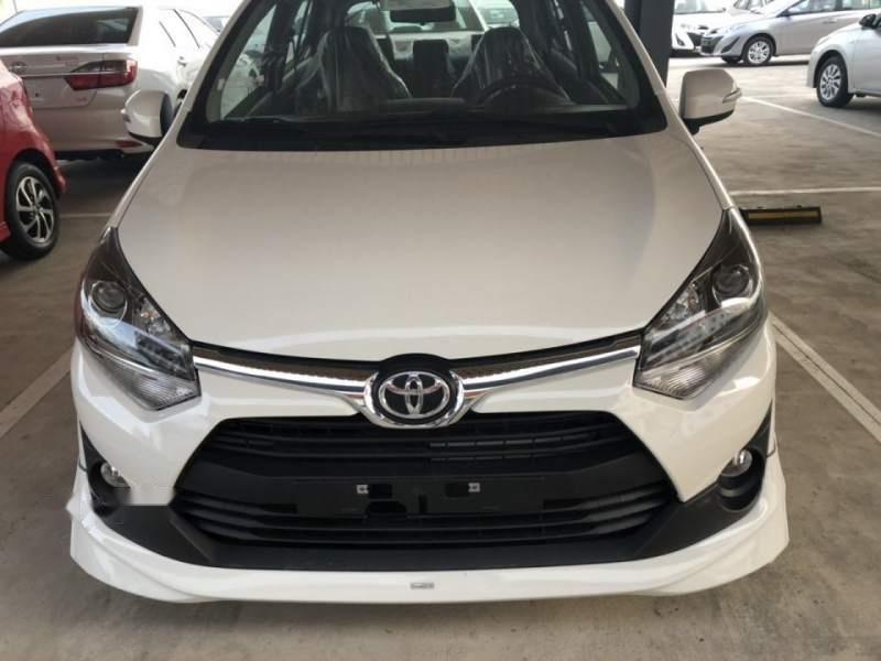 Bán Toyota Wigo 1.2AT sản xuất năm 2019, màu trắng, nhập khẩu-0