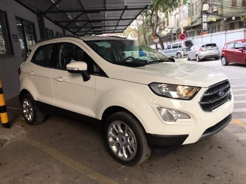 Bán Ford EcoSport đời 2019, màu trắng-1
