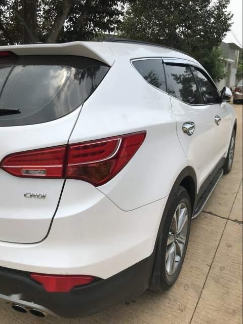 Bán xe Hyundai Santa Fe sản xuất 2015, màu trắng, 885tr-2