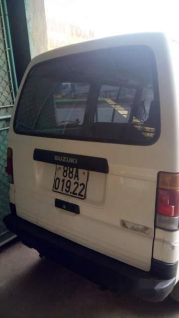 Bán Suzuki Super Carry Van đời 2005, màu trắng-0