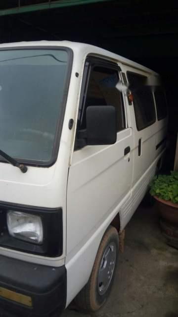 Bán Suzuki Super Carry Van đời 2005, màu trắng-4