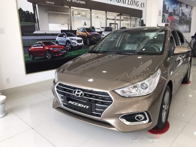 Bán xe Hyundai Accent sản xuất 2019, màu nâu-0