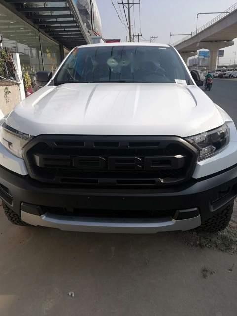 Bán xe Ford Ranger raptor 2019, màu trắng, xe nhập-0