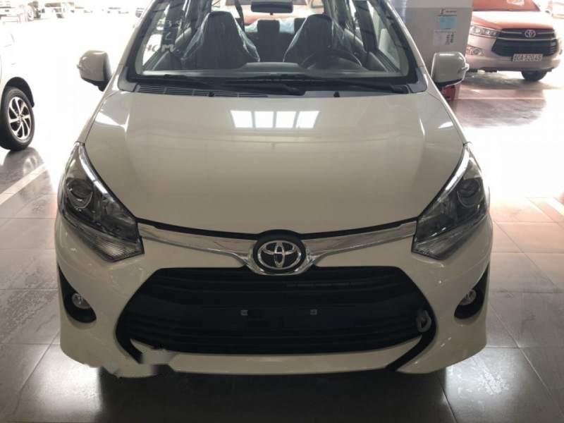 Bán Toyota Wigo 1.2AT sản xuất năm 2019, màu trắng, nhập khẩu-4