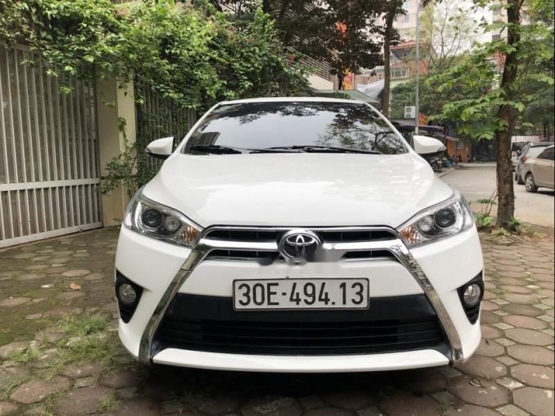 Bán xe Toyota Yaris G 1.5AT đời 2017, màu trắng, nhập khẩu chính chủ-2