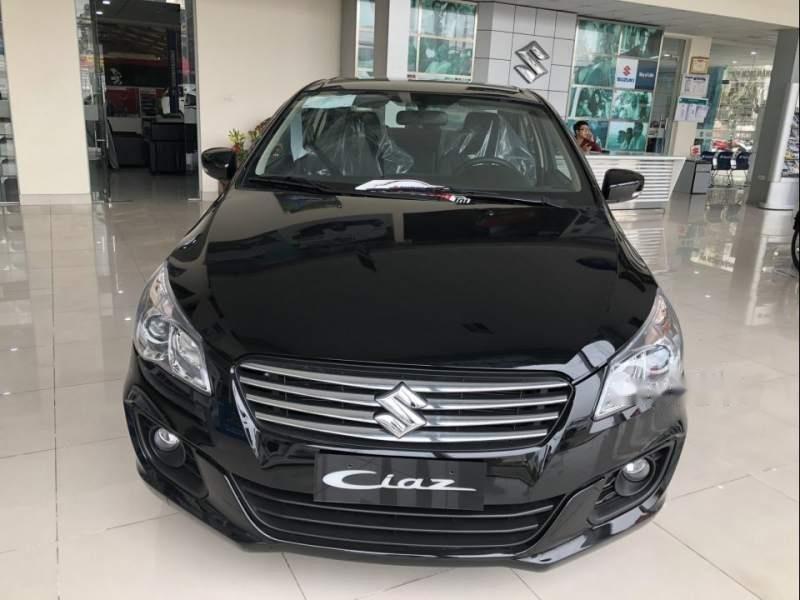 Bán ô tô Suzuki Ciaz sản xuất 2019, màu đen, xe nhập giá cạnh tranh-0