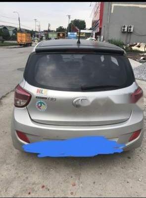 Bán gấp Hyundai Grand i10 sản xuất 2014, màu bạc, nhập khẩu-1