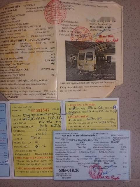 Cần bán lại xe Ford Transit 1999-1