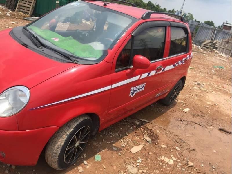 Cần bán gấp Daewoo Matiz 2002, màu đỏ chính chủ-0
