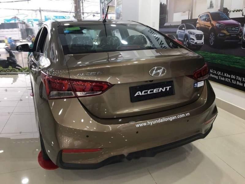Bán xe Hyundai Accent sản xuất 2019, màu nâu-4