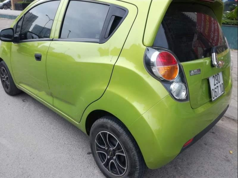 Bán xe Chevrolet Spark Van sản xuất 2012, màu xanh lục, nhập khẩu số tự động, 183 triệu-2
