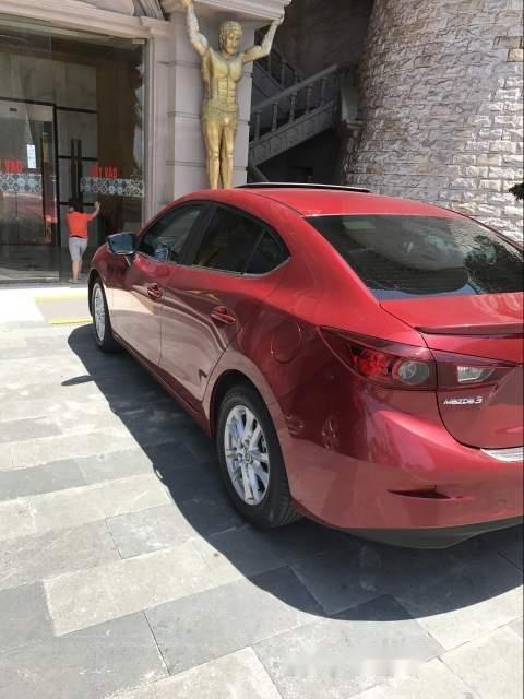 Bán ô tô Mazda 3 1.5AT đời 2017, màu đỏ, giá tốt-1