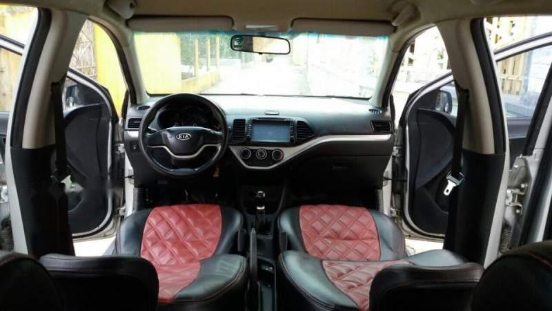 Cần bán lại xe Kia Morning 2013, màu bạc, nhập khẩu nguyên chiếc-2