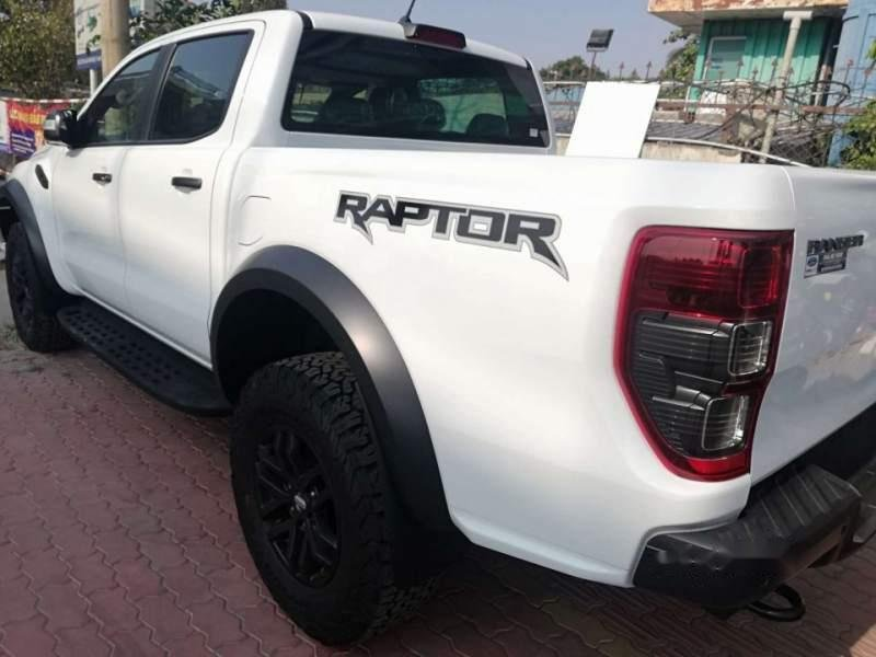 Bán xe Ford Ranger raptor 2019, màu trắng, xe nhập-3