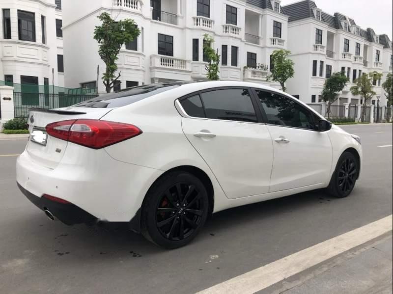 Bán xe cũ Kia K3 2.0 sản xuất 2015, màu trắng, 545tr-3