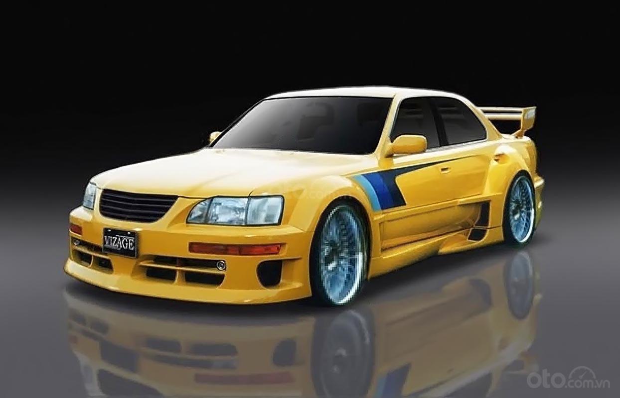 Cần bán Lexus LS 400 đời 1992, màu vàng, nhập khẩu nguyên chiếc-1