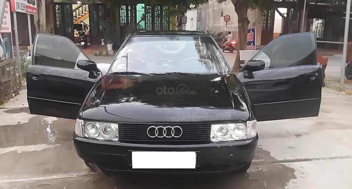 Bán xe Audi 200 sản xuất năm 1990, màu đen, nhập khẩu-0