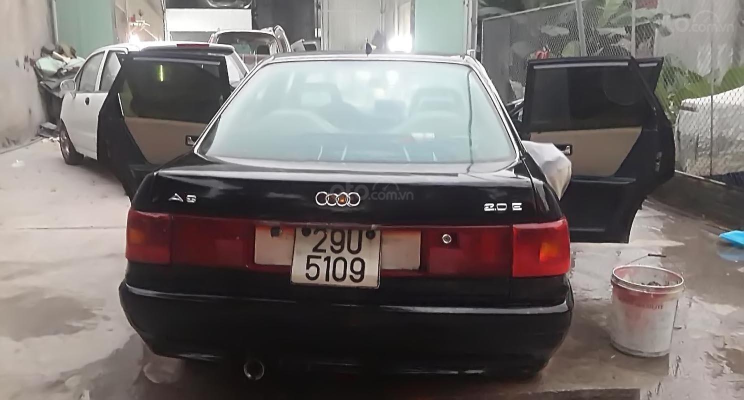 Bán xe Audi 200 sản xuất năm 1990, màu đen, nhập khẩu-1