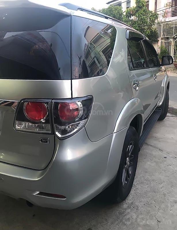 Bán gấp Toyota Fortuner 2.5 G sản xuất năm 2015, màu bạc   (2)
