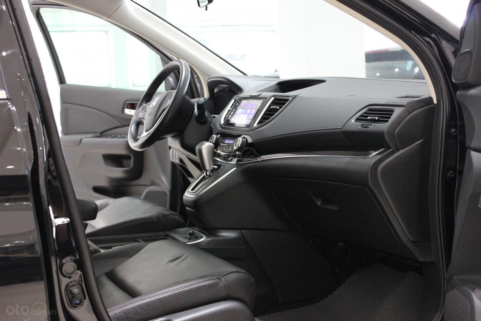 HCM: Honda CRV 2015, màu đen, xe đẹp 1 đời chủ (5)