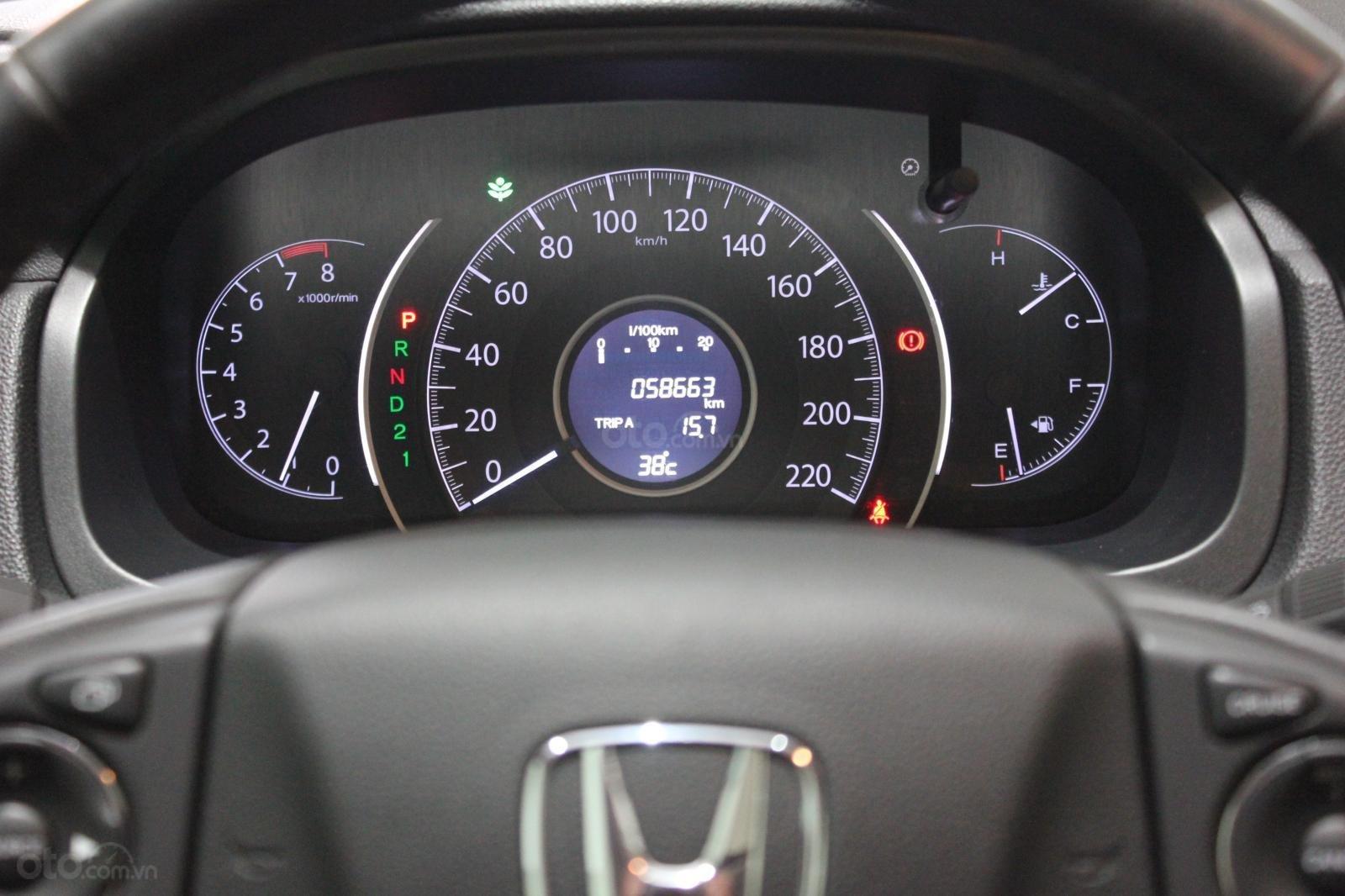 HCM: Honda CRV 2015, màu đen, xe đẹp 1 đời chủ (7)