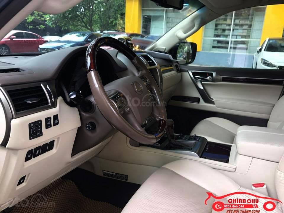 Chính chủ bán Lexus GX 460 đời 2016, màu vàng cát, nội thất kem, biển HN, giá hơn 3 tỷ (7)