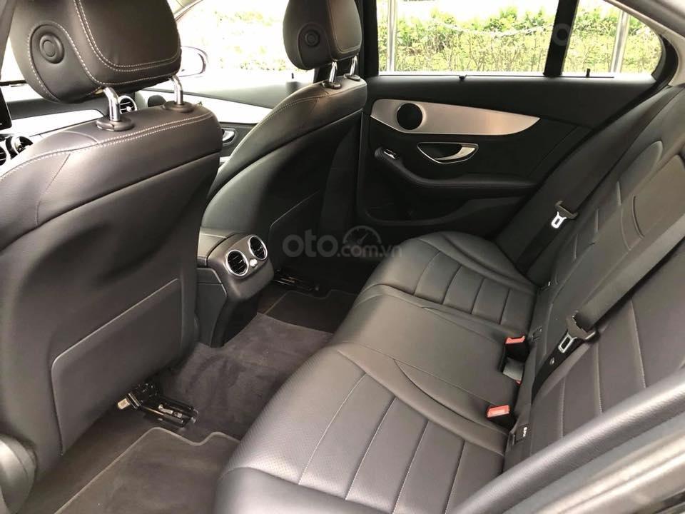 Bán Mercedes C200 màu đen sản xuất 2015 đăng ký biển Hà Nội-13