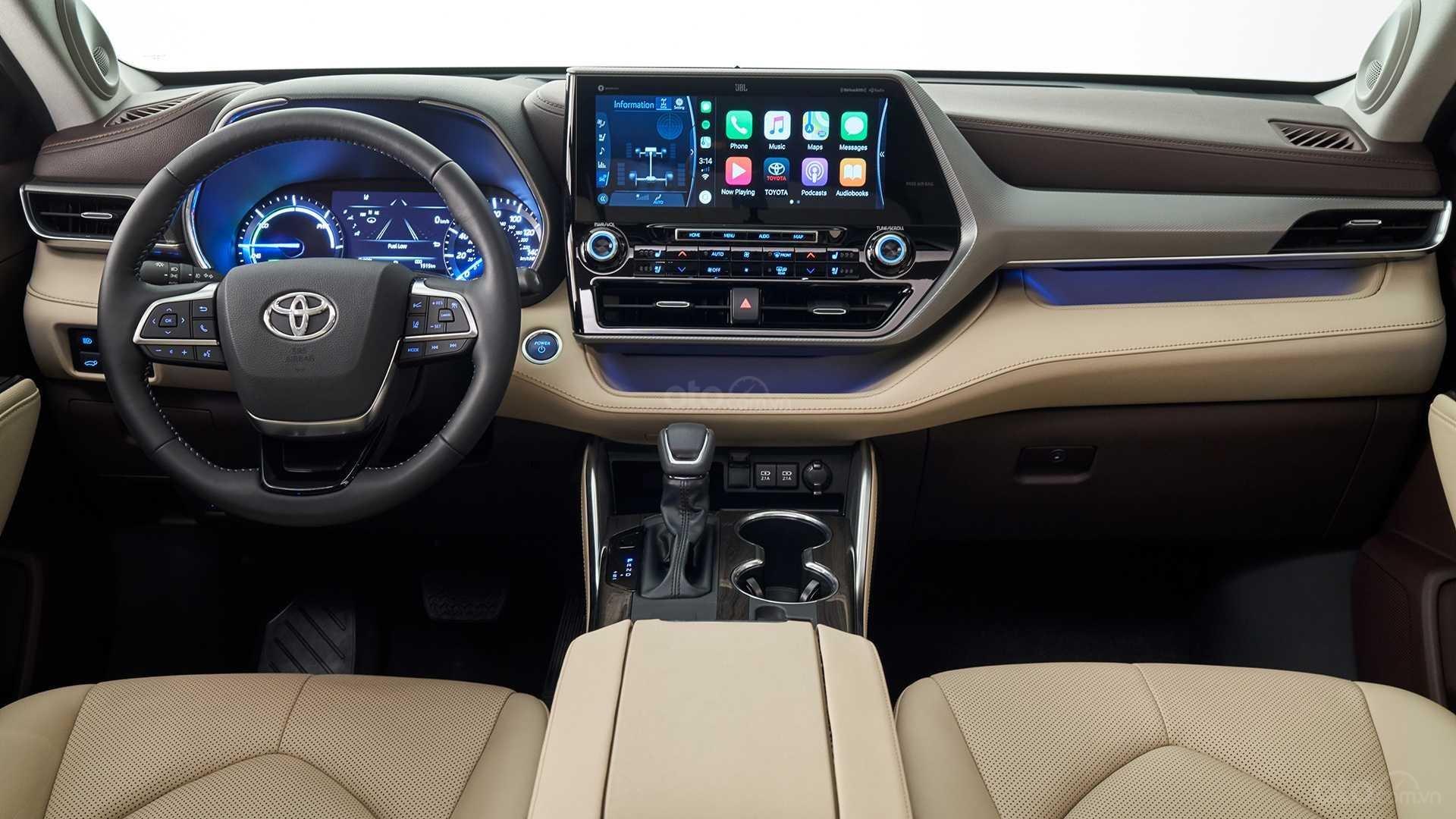 Toyota Highlander 2020 bảng táp lô 2
