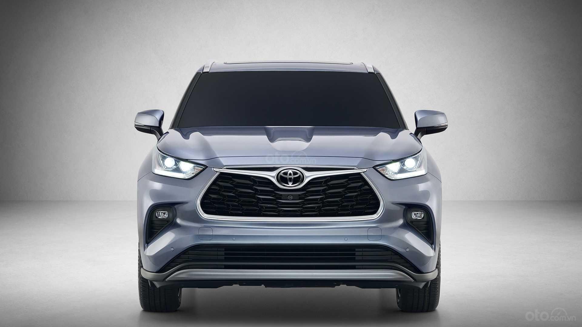 Toyota Highlander 2020 đầu xe