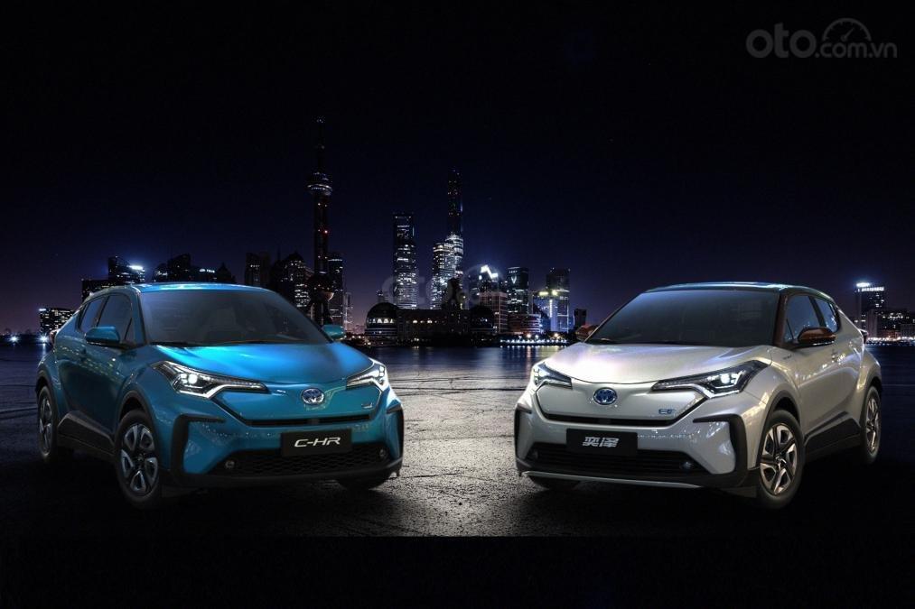 [Thượng Hải 2019] Toyota C-HR EV trình làng