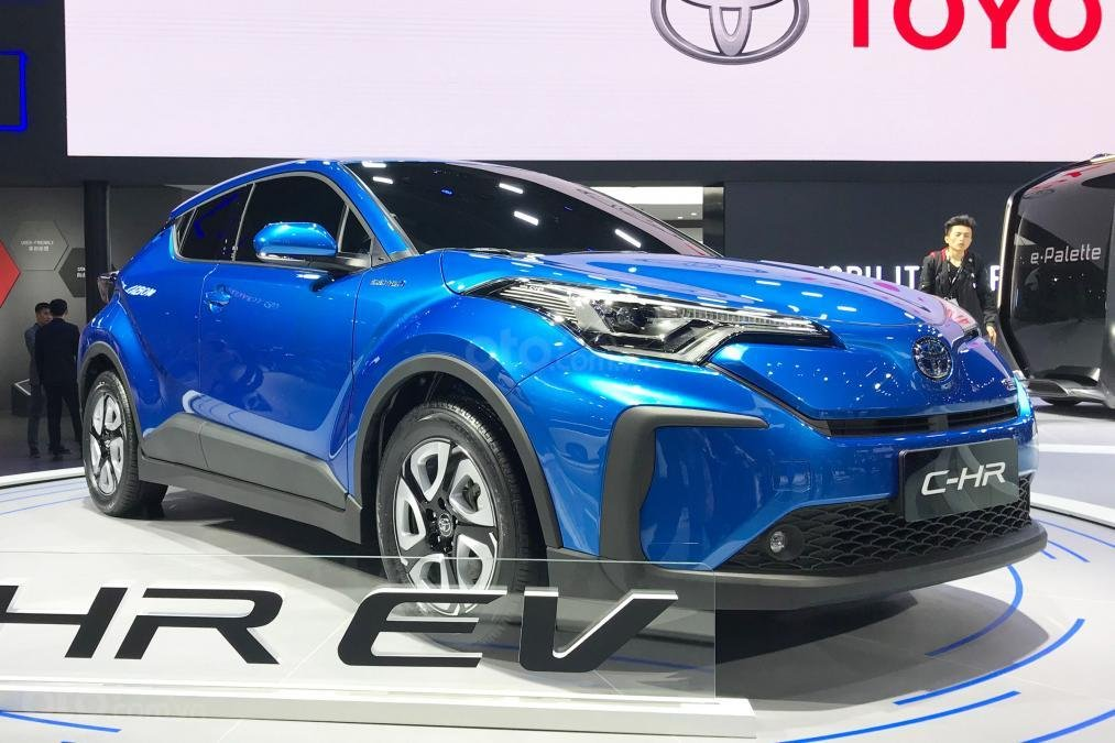[Thượng Hải 2019] Toyota C-HR EV cho thị trường Trung Quốc