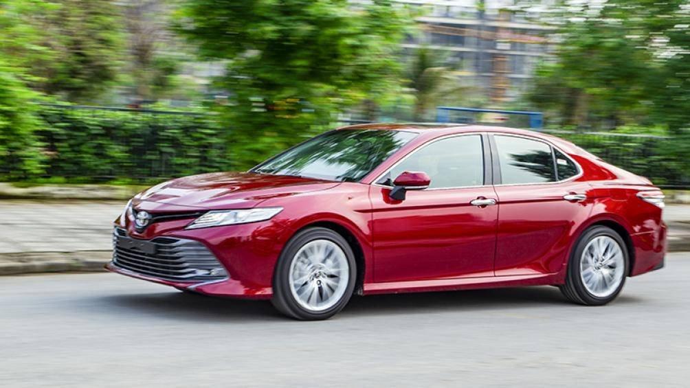 Ảnh thực tế Toyota Camry 2019 trước ngày ra mắt Việt Nam a6