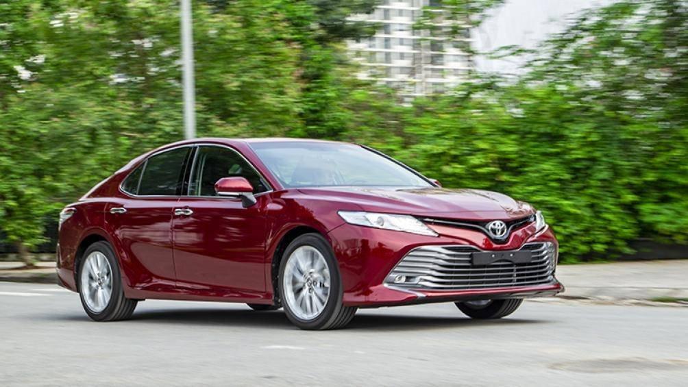 Ảnh thực tế Toyota Camry 2019 trước ngày ra mắt Việt Nam a5