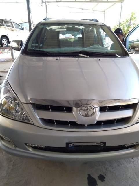 Bán Toyota Innova J sản xuất năm 2007, màu bạc, xe nhập, 247 triệu-0