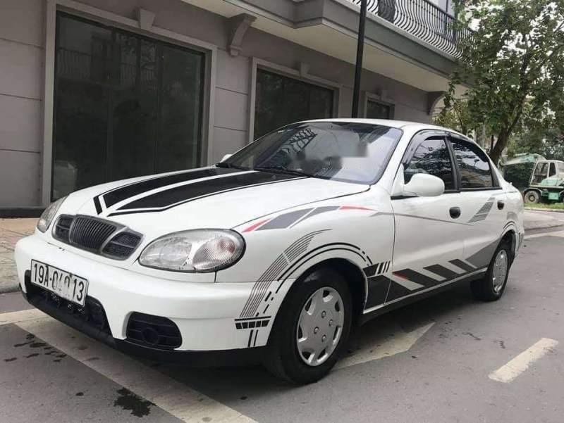 Cần bán xe Daewoo Lanos đời 2001, màu trắng-1