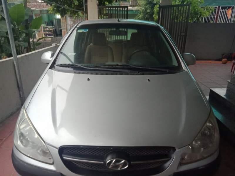 Cần bán Hyundai Getz 2010, màu bạc, xe nhập, giá chỉ 182 triệu-0