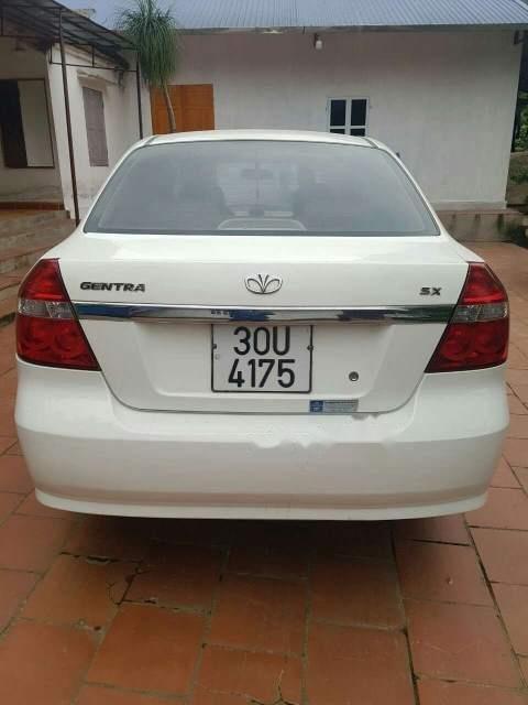 Bán ô tô Daewoo Gentra 2009, màu trắng, nhập khẩu giá cạnh tranh-5