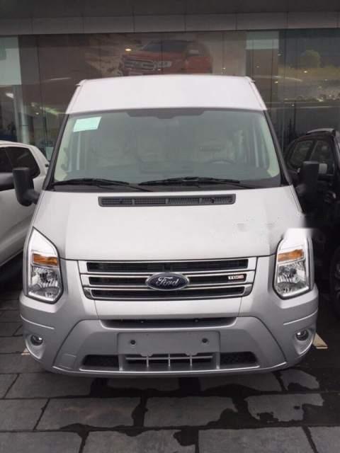 Bán Ford Transit sản xuất năm 2019, màu bạc, xe nhập, 750tr-1