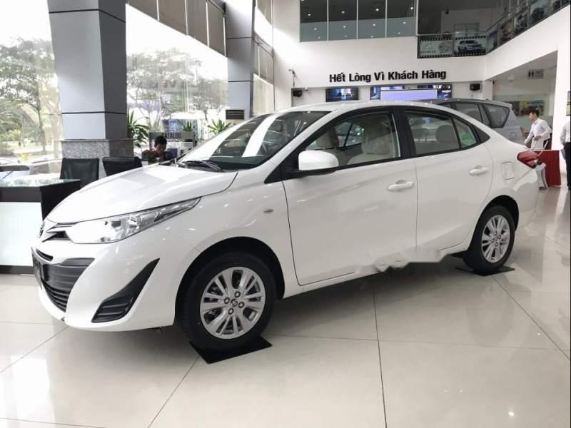 Bán ô tô Toyota Vios 2019, màu trắng-1